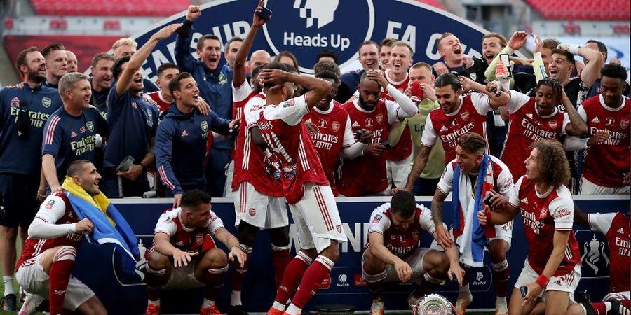 Ada Peran Pep Guardiola di Balik Kesuksesan Arsenal Juara Piala FA