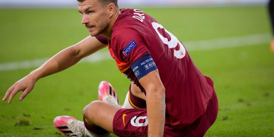 Takut Cedera, Edin Dzeko Pilih Mangkir Membela AS Roma demi Juventus?