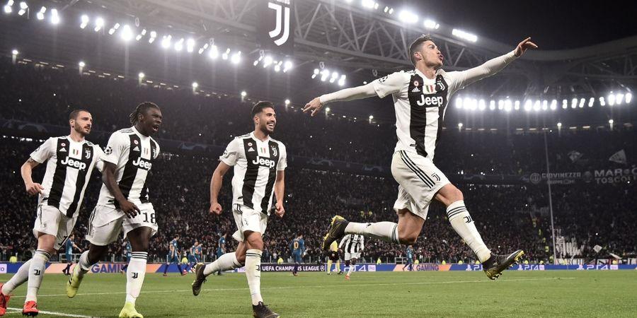 Di Fase Gugur Liga Champions, Juventus Berubah Jadi Cristiano Ronaldo FC