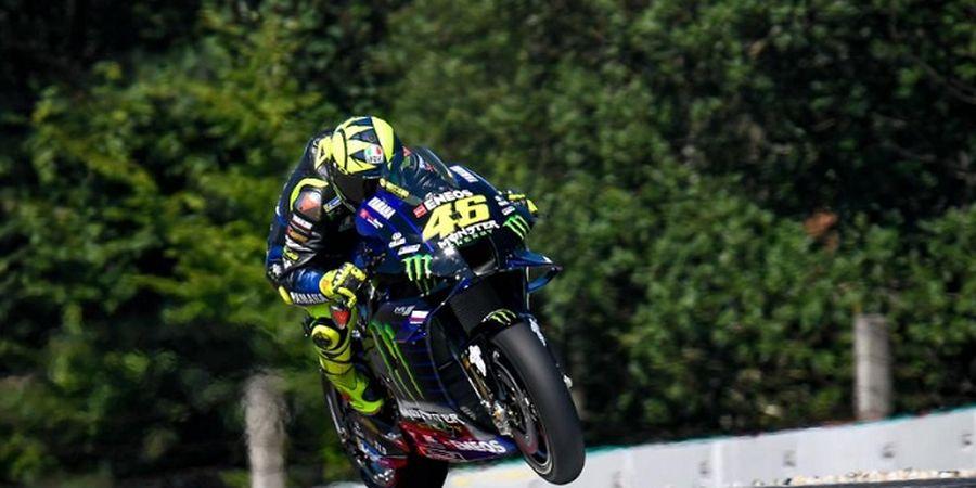 Hasil MotoGP Ceska 2020 - Valentino Rossi Ngacir, Quartararo Berduka