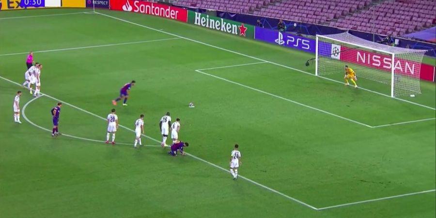 Kelakuan Unik Lionel Messi Saat Luis Suarez Eksekusi Penalti