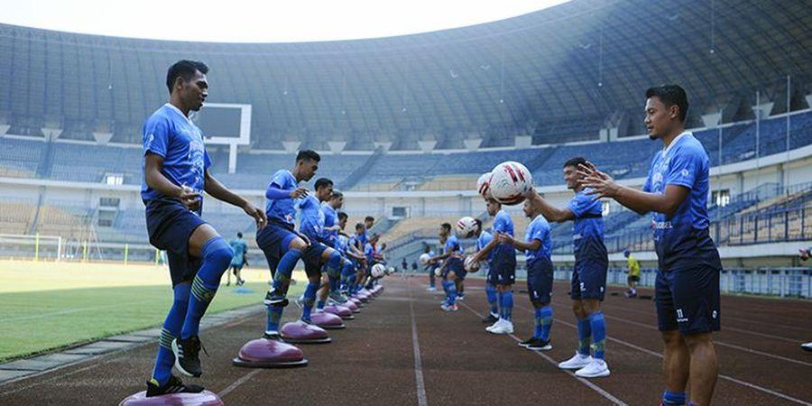 Bek Persib Bandung: Kami Latihan Seakan Tidak Jelas Mau Kemana