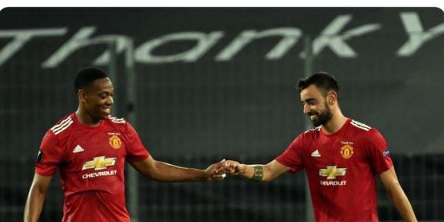 Berkat Aksi 121 Menit, Anthony Martial Kini Bernilai 1,9 Triliun untuk Man United