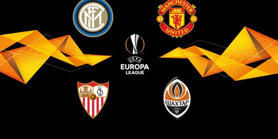 Jadwal Semifinal Liga Europa - Sevilla vs Man United, Inter Milan vs Shakhtar Donetsk