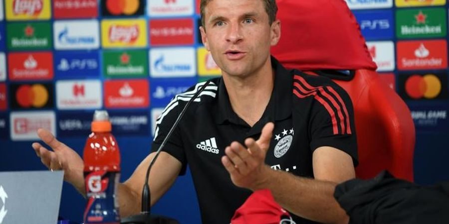 Thomas Mueller Ungkap Taktik Bayern Hentikan Lionel Messi, 11 Pemain Punya Tugas