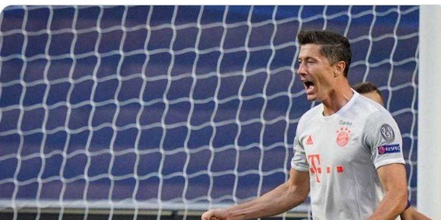 VIDEO - Assist Rabona Lewandowski dalam Kemenangan Besar Bayern Muenchen