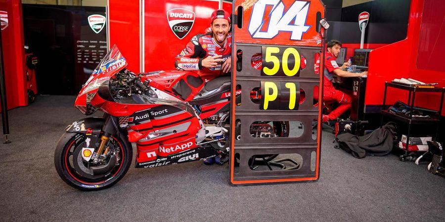 Kecewa dengan Michelin, Andrea Dovizioso Yakin Marc Marquez Juga Bakal Kewalahan