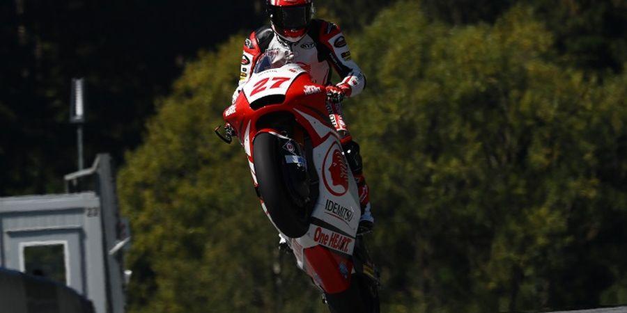 Pembalap Indonesia Tuai Pujian dari Bos Honda Usai Cetak Rekor pada Moto2 Catalunya 2020