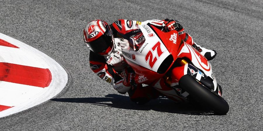 Komentar Pebalap Indonesia Setelah Kecelakaan dan Gagal Finish di Moto 2 San Marino 2020