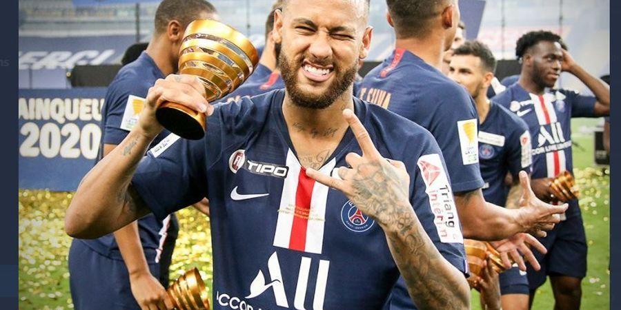 Megabintang Paris Saint-Germain Neymar Positif COVID-19