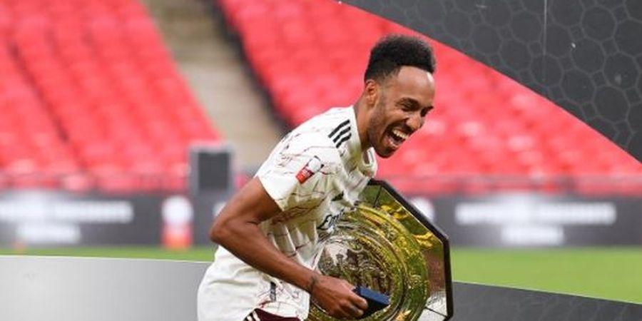 Arsenal Ingin Aubameyang Jadi Pemain Pertama yang Perbarui Kontrak Diantara Tiga Pemain