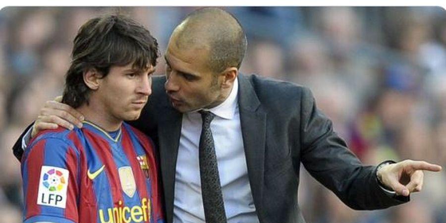 Saat Guardiola 'Ditodong' Datangkan Messi ke Manchester City