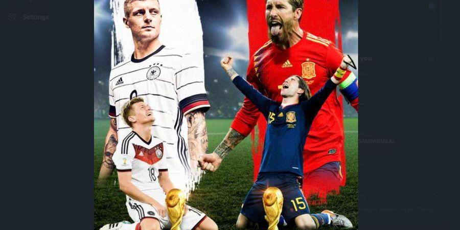 Jadwal dan Live Streaming UEFA Nations League, Big Match Jerman Vs Spanyol Dini Hari Nanti