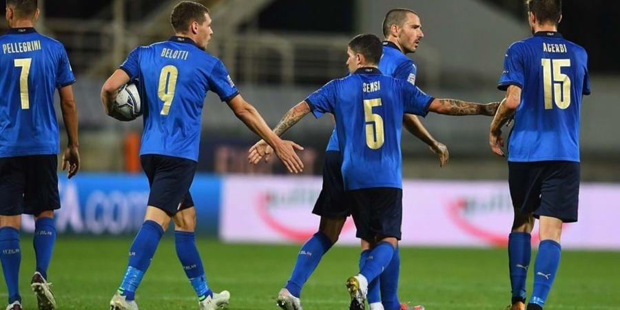 Susunan Pemain Belanda vs Italia - Roberto Mancini Sudah Tak Salah Lagi Pasang Pemain