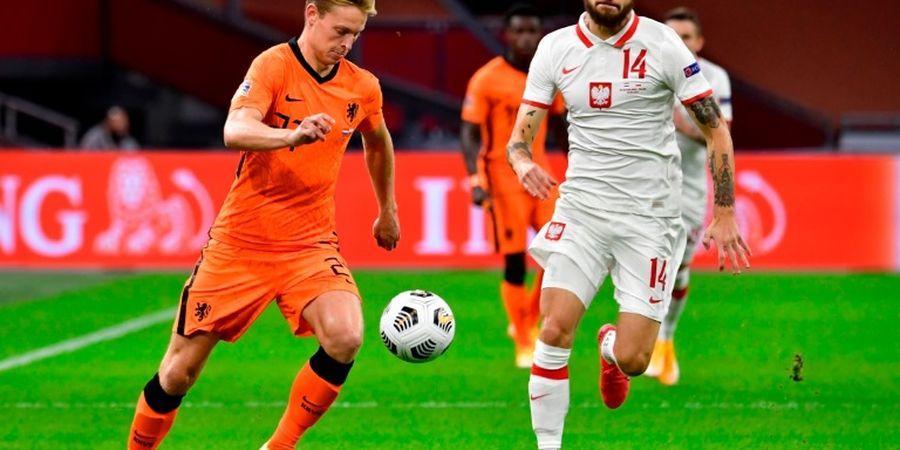 Hasil Babak I - Serangan Mandul, Belanda Ditahan Imbang Polandia