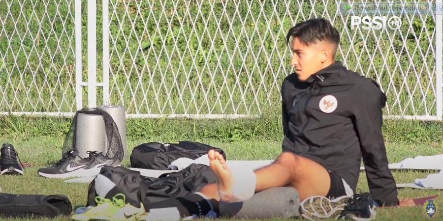 Penampilan Ciamik Jack Brown dalam Laga Timnas U-19 Vs Makedonia Utara sampai Trending di Twitter