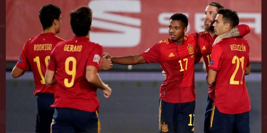 Spanyol vs Ukraina - Ansu Fati Catat Rekor Pencetak Gol Termuda, 17 Tahun 311 Hari