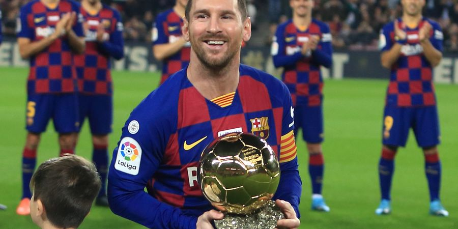 Bukti Kuat yang Bikin Lionel Messi Lebih dari Layak Raih Ballon d'Or 2021
