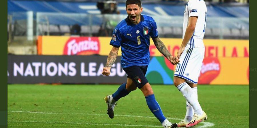 Berita EURO 2020 - Cedera Sama Lagi, Gelandang Inter Milan Bikin Italia Degdegan