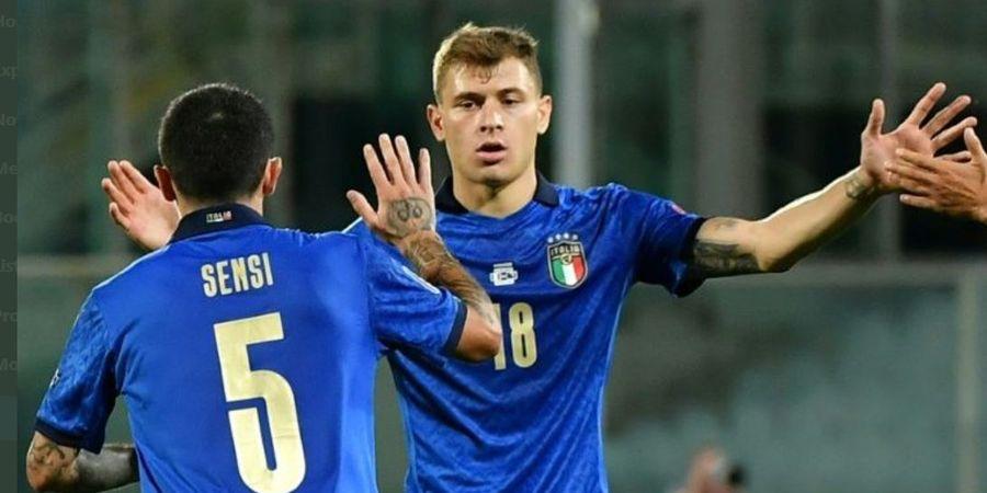 Italia Tanpa Bomber, Semua Gol Dicetak 2 Gelandang Mungil Inter Milan