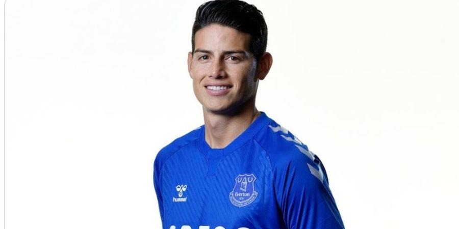 Belum Mulai Bermain, James Rodriguez Sudah Memberikan Dampak Besar Bagi Everton