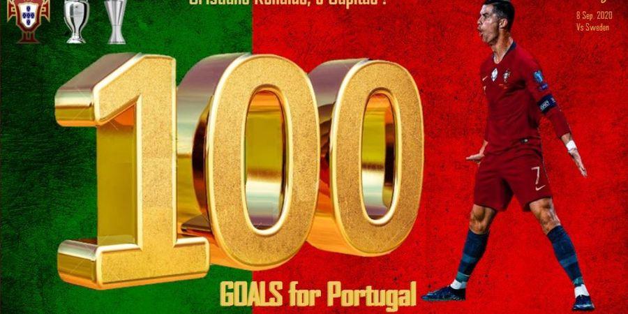 Lewati 100 Gol, Cristiano Ronaldo Diselamati Klub, kecuali Real Madrid