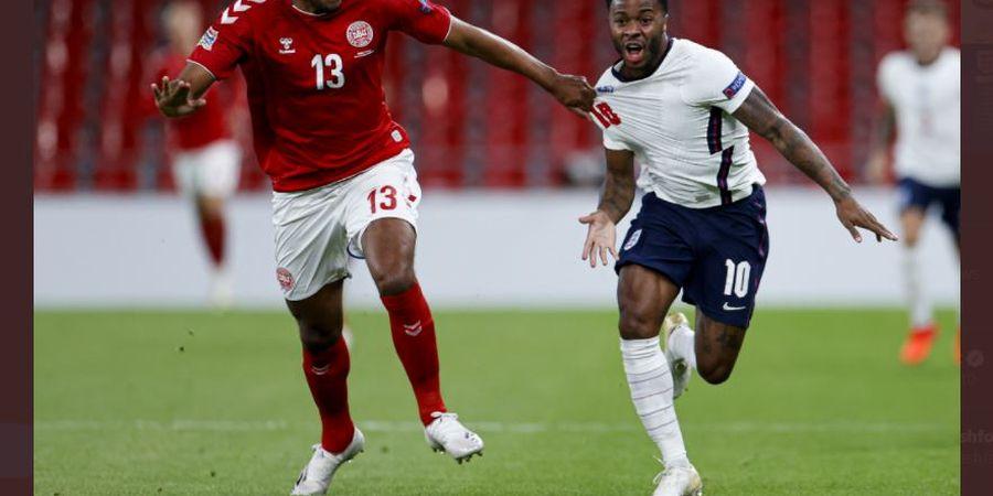 Babak I Denmark vs Inggris - Penyelamatan Super Pickford Bikin Skor 0-0