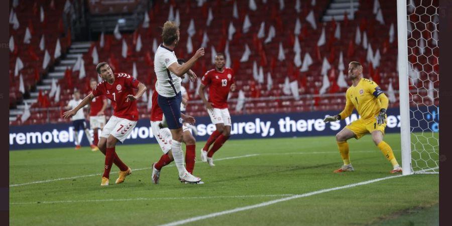 Hasil UEFA Nations League - Inggris Ditahan Denmark 0-0, Harry Kane Pukul Lapangan