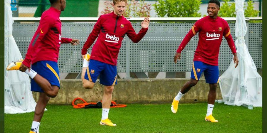 RESMI - Ansu Fati Masuk Tim Utama, Barcelona Pagari dengan Klausul Pelepasan Rp 6,89 Triliun!