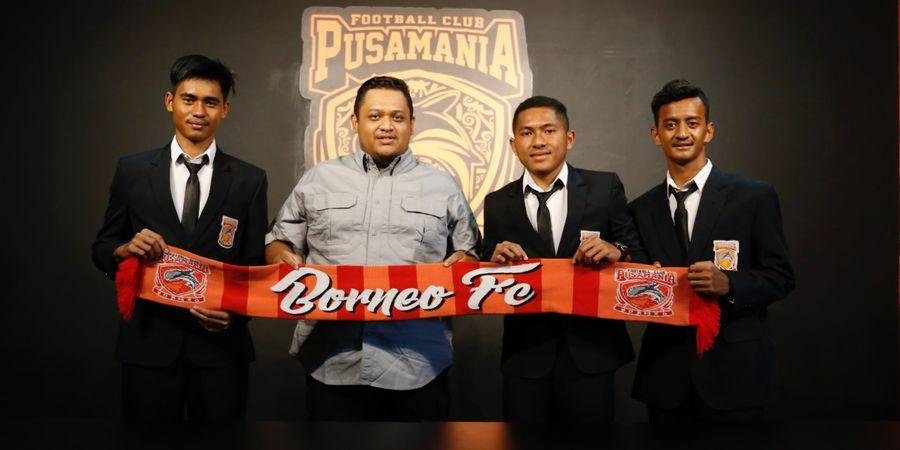 Pemain Muda Borneo FC Pualam Bahari Mengaku Terbantu oleh Para Seniornya