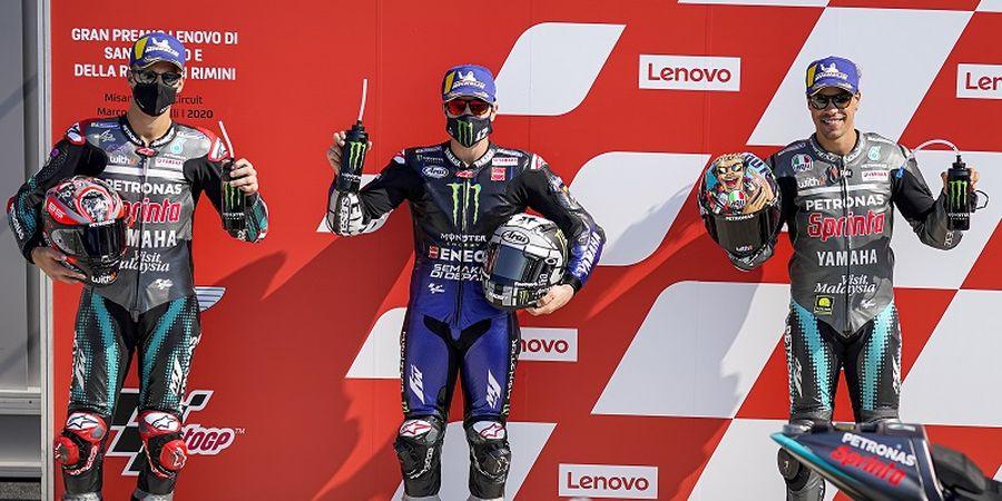 Starting Grid MotoGP San Marino 2020 - Yamaha Dominan, Siapa yang Bisa Lawan?