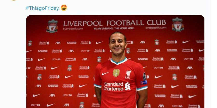 Thiago Datang, Pemain Ciamik Ini Akan Terdepak dari Liverpool?