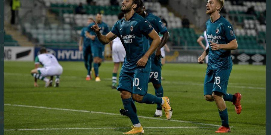 Hasil Undian Play-off Liga Europa - AC Milan Bisa Ketemu Klub Masa Muda Jose Mourinho