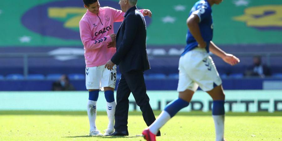 Baru 168 Menit di Everton, James Rodriguez Samai Catatan di Real Madrid Musim Lalu