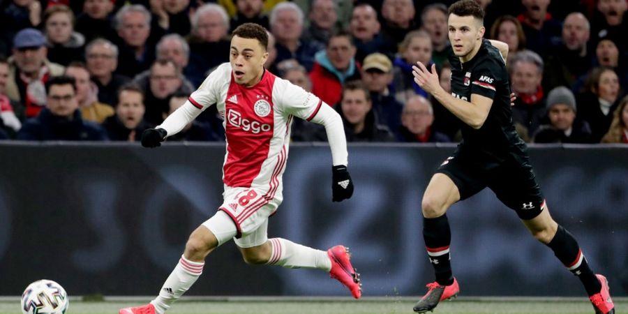 Fix! Barcelona Boyong Sergino Dest dari Ajax, Lebih Murah dari Harga Jual Nelson Semedo