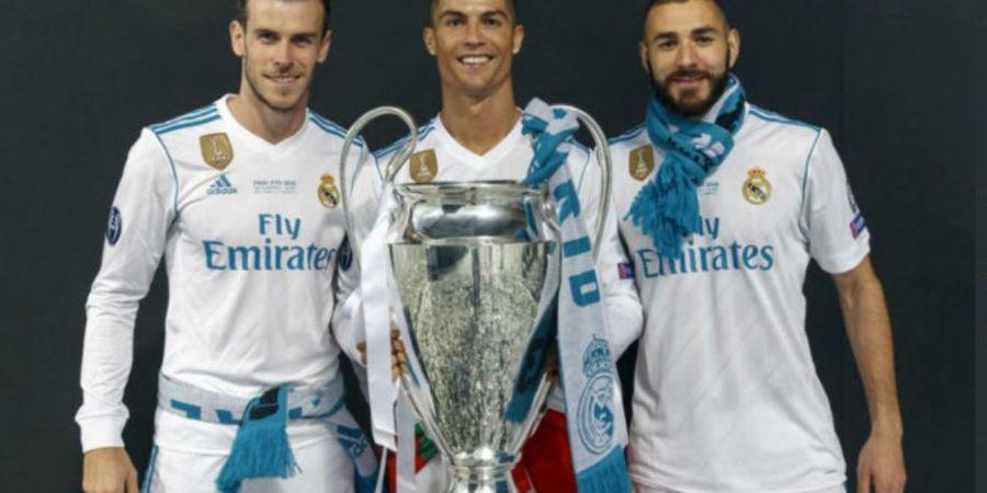 Liverpool vs Real Madrid - Benzema Kejar Rekor Gol Raul, tapi Gak Ada Apa-apanya dibandingkan Ronaldo