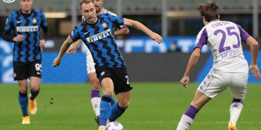 Hasil Babak I - Pemain Baru Kalah Duel, Inter Milan Tertahan 1-1