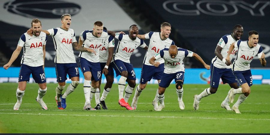Hasil Piala Liga Inggris - Taklukkan Chelsea Lewat Adu Penalti, Spurs Lolos ke Perempat Final