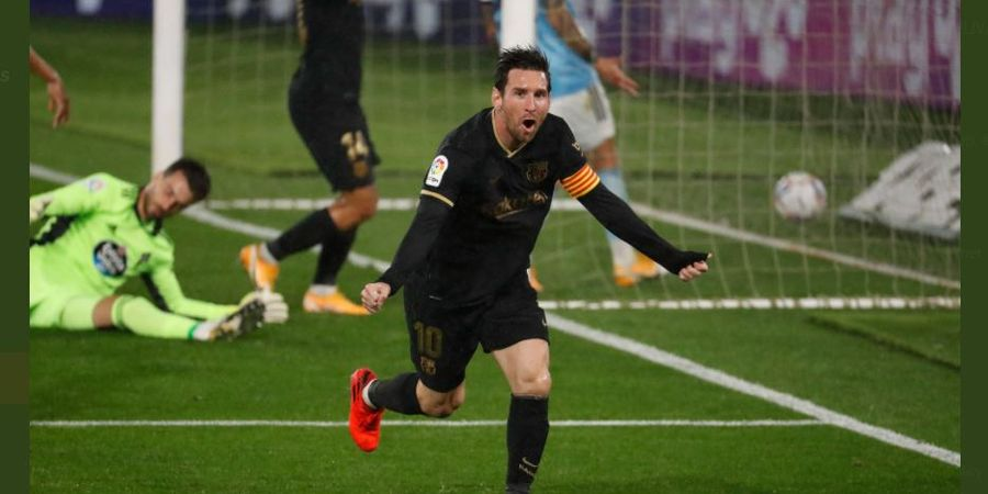 Hasil Liga Spanyol - Lionel Messi dan Ansu Fati Ubrak-abrik Celta, Barcelona Menang 3-0