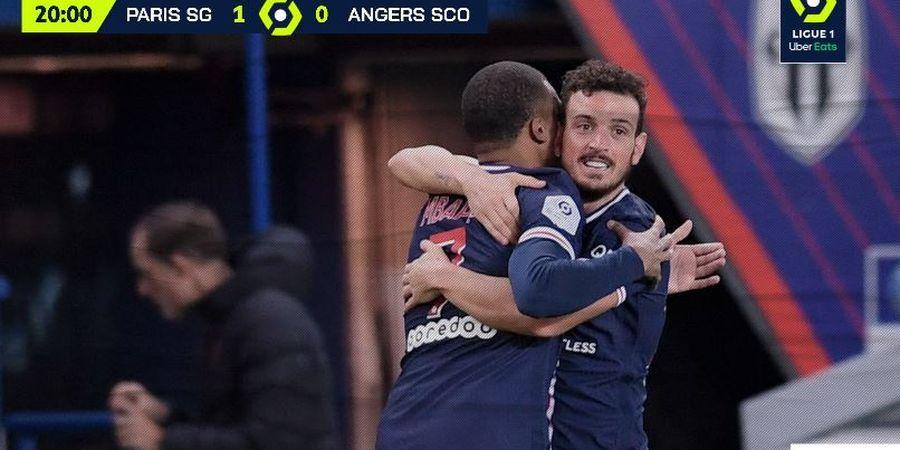 Hasil Liga Prancis - Neymar Cetak Brace dan Anak Baru Cetak Gol Debut, PSG Cukur Angers 6-1