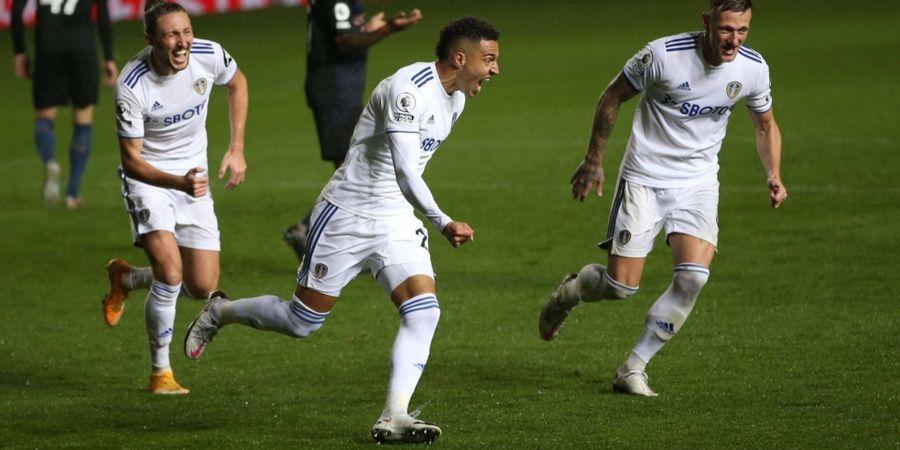Hasil Liga Inggris - Kecolongan di Babak Kedua, Man City Ditahan Imbang Leeds United 1-1