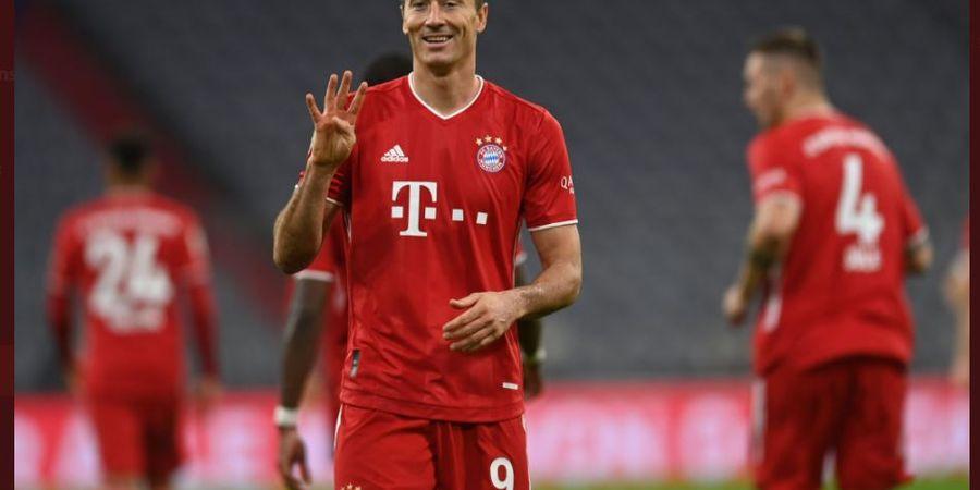 Bayern Muenchen Salip Dortmund, Robert Lewandowski Ukir Gol ke-100 Bundesliga di Allianz Arena