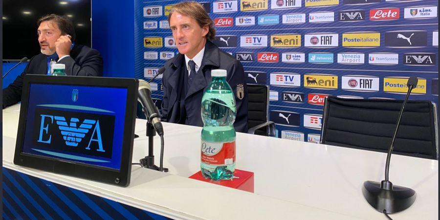 Belum Raih Apa-apa, Roberto Mancini Sudah Jadi Pelatih Terbaik Italia Sepanjang Masa