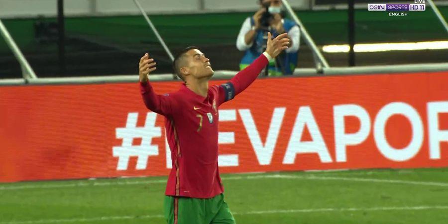 VIDEO - Kocaknya Ronaldo Protes pada Wasit saat Hadapi Spanyol