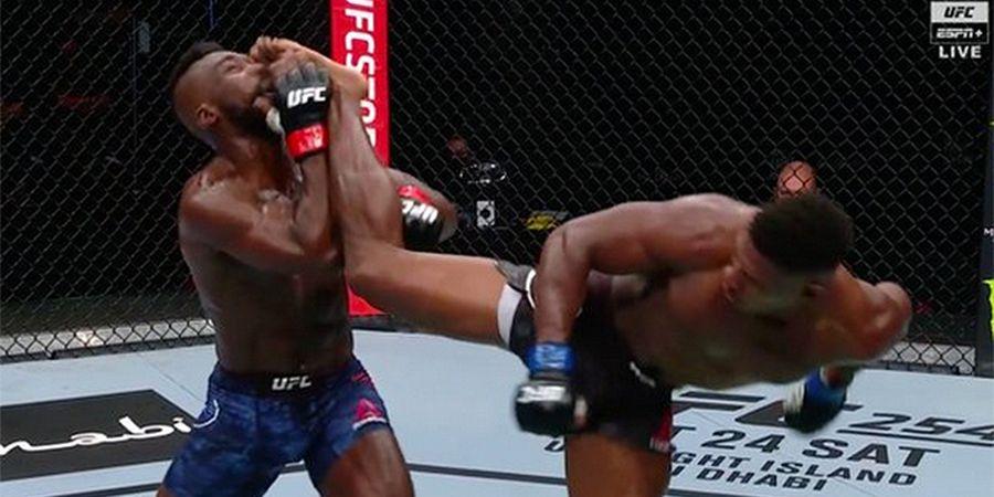 UFC Fight Island 7 - Pelaku KO Viral Tendangan Wakanda Gatal Sikat Dagu Musuhnya