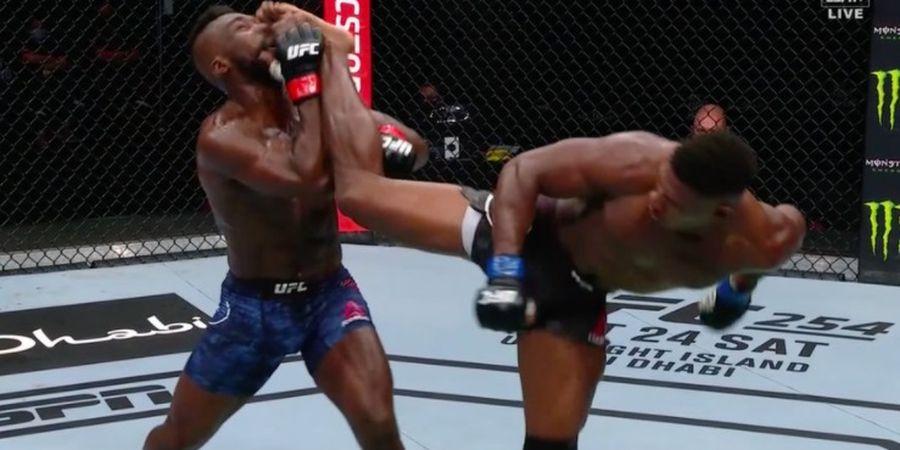 Tendangan Wakanda di UFC Fight Island 5 Didaulat Jadi KO of The Year