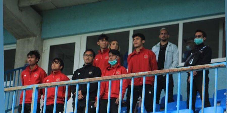 Hadir di Stadion, Gelandang Asing PSIS Semarang Saksikan Momen saat Timnas U-19 Indonesia Benamkan Makedoni Utara