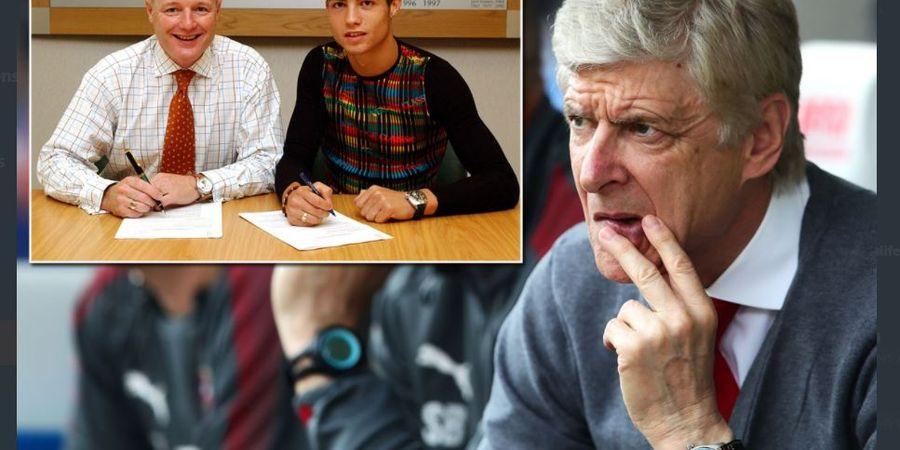 Kisah Ronaldo Selangkah Lagi ke Arsenal, Sudah Punya Baju The Gunners dan Makan Siang bersama Ibu di London