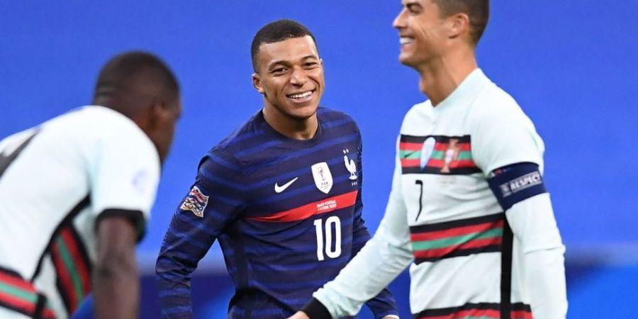 Susunan Pemain Portugal vs Prancis - Cristiano Ronaldo Siap Kejar Rekor, Tim Tamu Tanpa Kylian Mbappe
