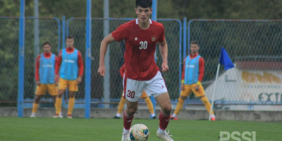 Debut Elkan Baggott Dinodai Penalti Aneh dari Makedonia Utara